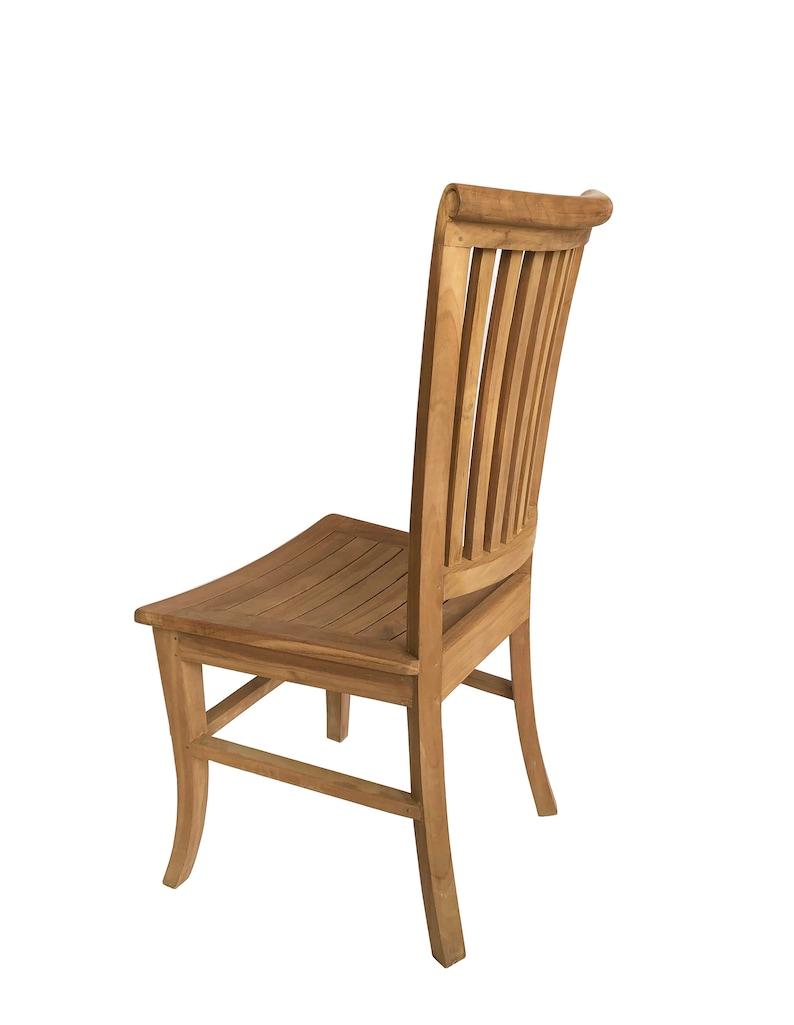 Comfortable CR006 Armando Dining Chairs Solid Teak Wood