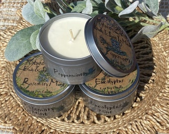 Soy Candles Set- Clean