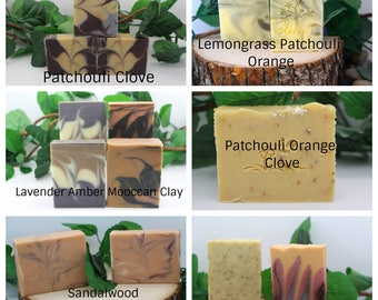 Handmade Earthy Blends Botanical Soaps 4 for 21.00 Excluding Felted Soaps-List Choices under comment section