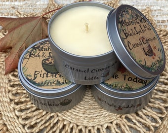 Holiday Soy Candles Set
