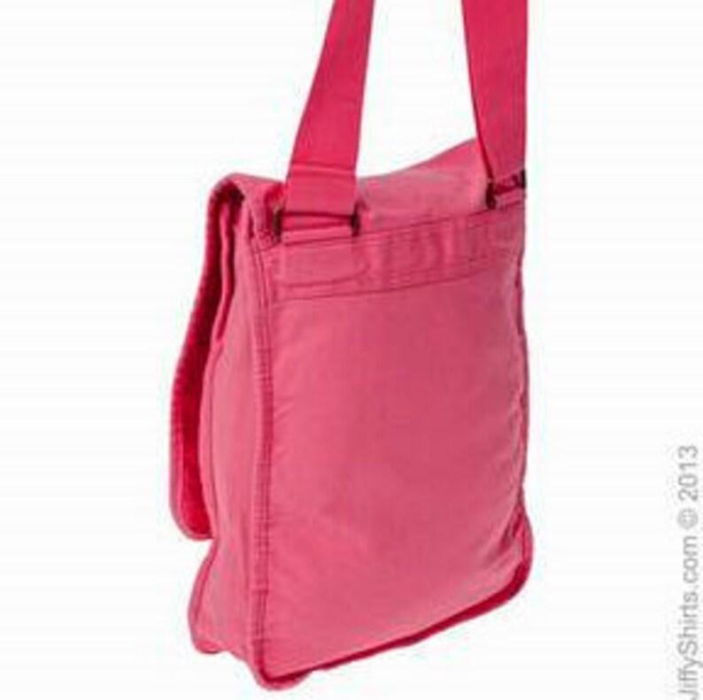 Flamingo Monogrammed Messenger BagPersonalized Messenger BagCanvas Messenger BagWomens Messenger BagCrossbody Bag