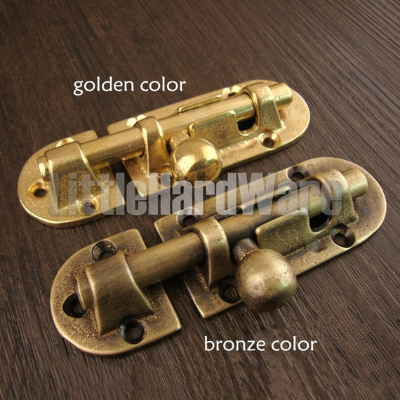 Brass Made Classical Vintage Brass Door Bolt,brass Door Latch Hasps,Brass  Door Lock Catch  Antique Brass Color/Golden Color   105 Mm X 33 Mm From ...