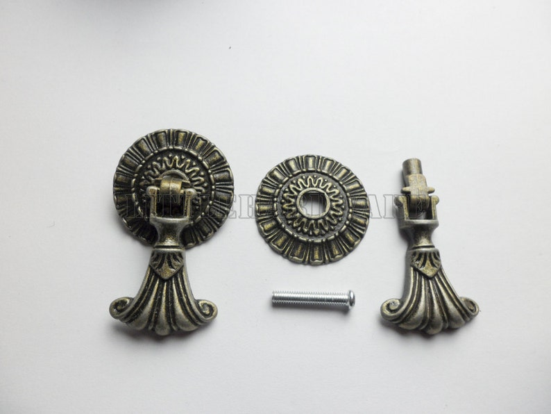 Diameter 37mm  vintage Roman palace Pendant Pulls drawer handles  drawer knobs  vintage drawer pulls furniture hardware  #DP0092