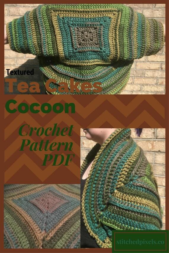 Super Granny Scarf Crochet Pattern Pdf Modern Caron Cakes Photo