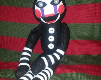FNAF inspired Marionette plush