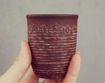 Cadeau personnalisé cadeau tasse vaisselle coupe argile Coupe tasse en céramique café tasse thé tasse d'argile personnalisé argile Mug personnalisé fait à la main