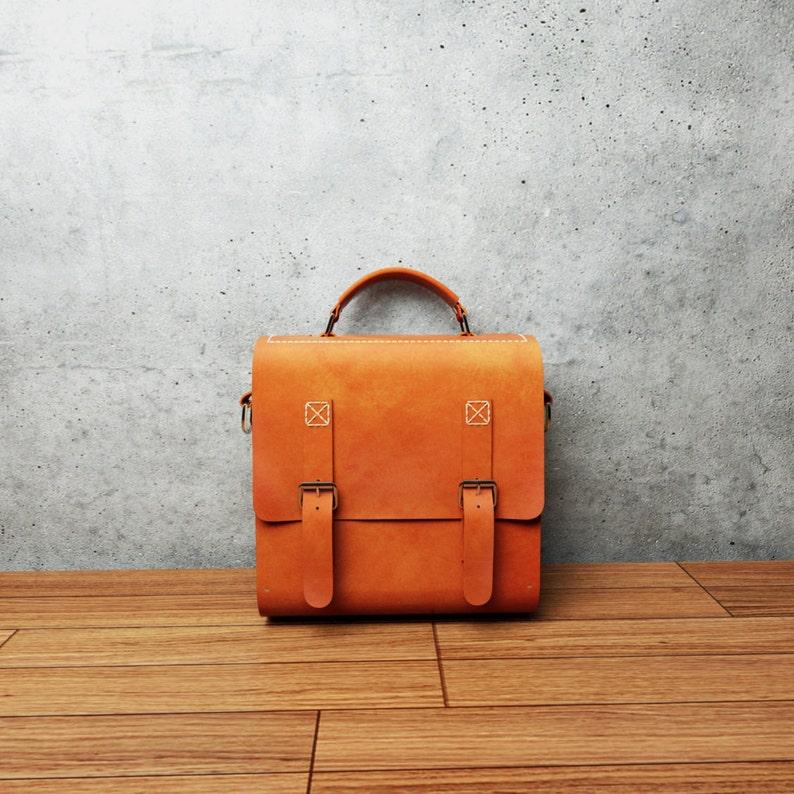 NATURE Mini Wood   Leather Bag Leather and Wood Purse  17f049a169c0d