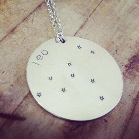 Horoscope Zodiac Star Constellation Necklace Leo Scorpio Virgo Aeries Libra Cancer Pieces Sagittarius