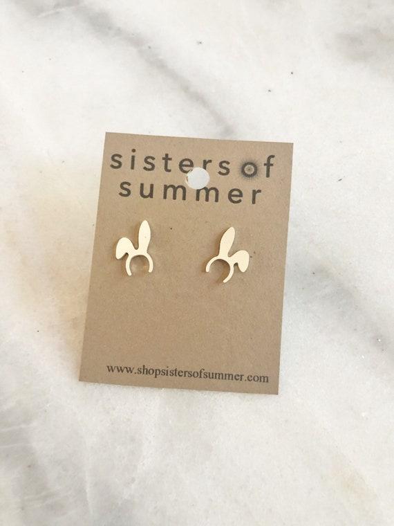 Bunny Ears Stud Earrings