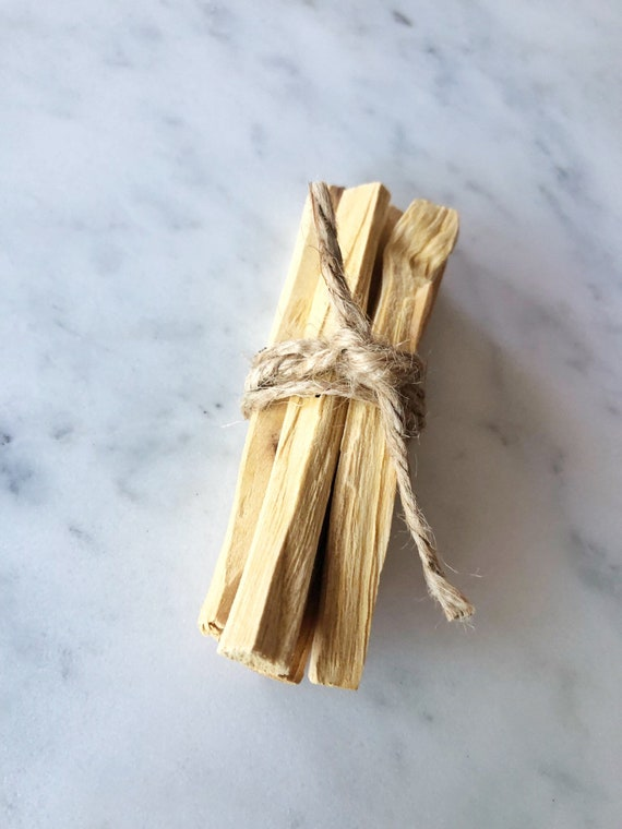 5 Pieces of Palo Santo Stick Home Cleansing Crystal Cleansing Spiritual Cleansing