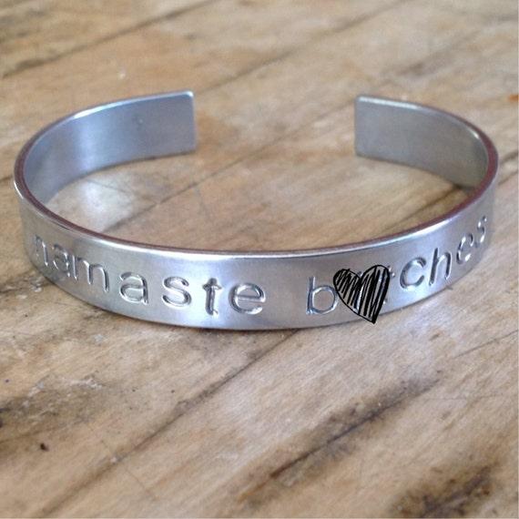Namaste B*Tches Cuff Bracelet - Mature