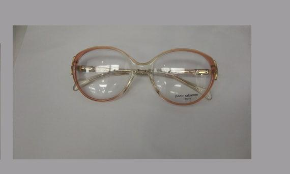 Vintage 1980s PACO RABANNE PARIS Champ Plastic Eye
