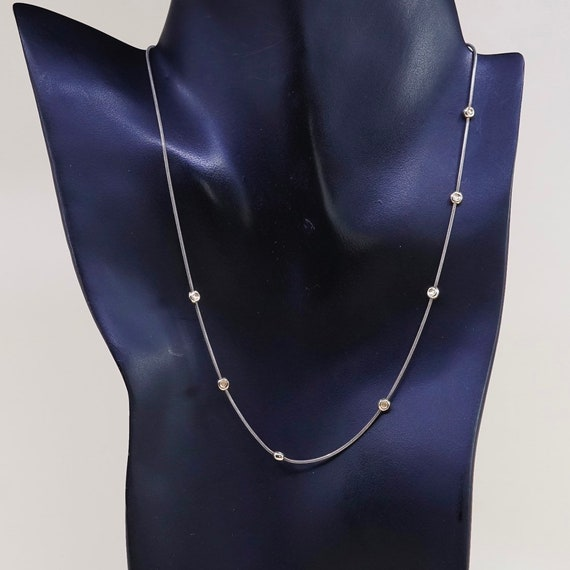 Vintage 16\u201d Silpada Saturn Necklace N0673 Sterling Silver 14k Yellow Gold Necklace Stamped 925 040398