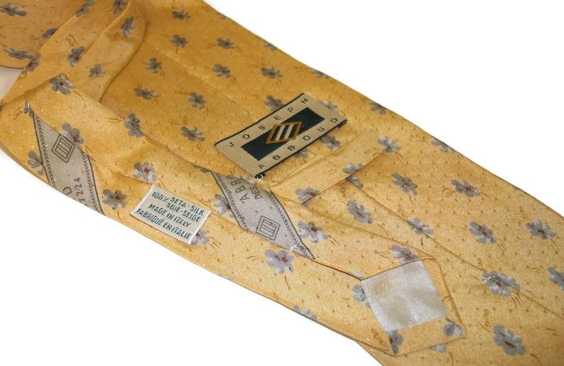 a7261dd60e8d Vintage Joseph Abboud Silk Necktie Made in Italy Orangey | Etsy