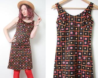 5082359f Vintage 60s Novelty Print Dress - Psychedelic 60s Dress - Sleeveless - Summer  Dress - Size Small Medium - 1960s Mod Dress - Hippie Hippy