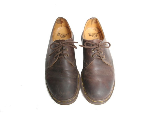90s Braun  Herren Dr Dr Dr Martens Schuhes Made In The UK 90s Docs   Etsy df85b8