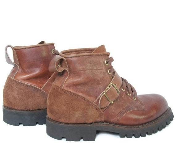 Bottine cheville 6 randonn cuir marron en de Dayton US bottes Taille chaussure xAwax6