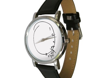 Scrambled Time Wristwatch - humour - gift watch - mixed numbers - Scrambled Numbers - mens watch - womans watch - Will Graham