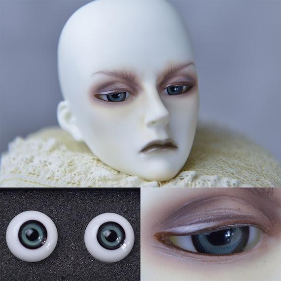 Good-quality 20MM  FlatBack Light pink Glass BJD Eyes for Reborn BJD Doll