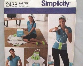 b809fef7c11c2a Simplicity 2438 Fitness Game Accessories with Slippers in Three Sizes UNCUT