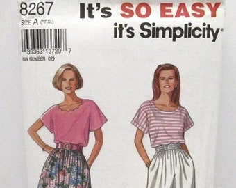 891f3f0cbc Simplicity 8267 Easy Misses Skirt