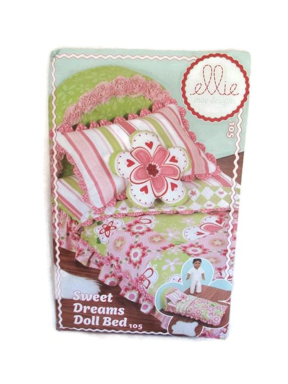 Kwik Sew Ellie Mae Designs 105 Sweet Dreams Doll Bed Pattern   Etsy