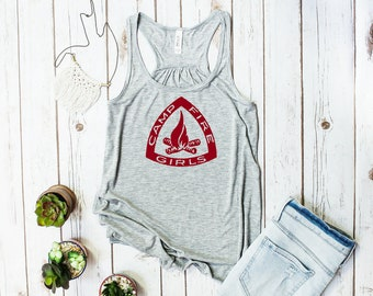 Campfire Girls Tank Top (Girl Scout shirt)