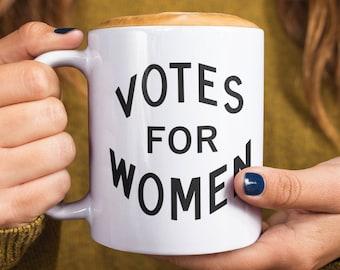 Feminist mug: Votes for Women