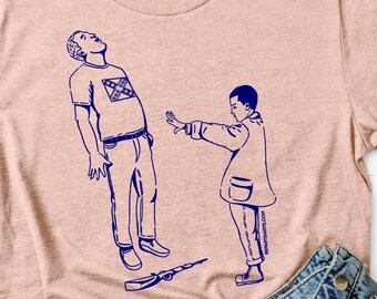 ReparTees Series: Stranger Things Shirt--Eleven fights white supremacy!
