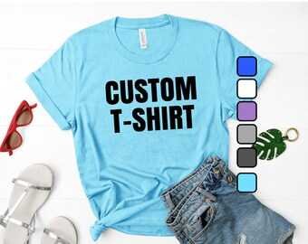 Custom Unisex T-Shirts/Event Shirts (Wholesale only, minimum 10 shirts)