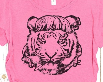 "Tiger Tshirt: ""I Saw a Tiger"" Tshirt"