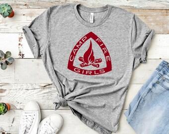 Campfire Girls Unisex Shirt (Girl Scout Shirt)