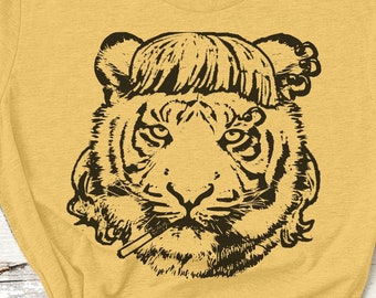 Tiger King Mullet Tshirt