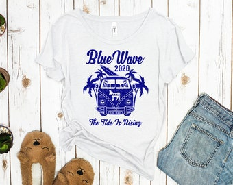 Blue Wave 2020 Women's Political Tee
