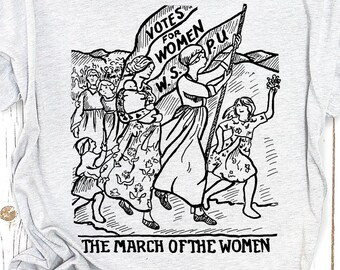 March of the Women Historical Design