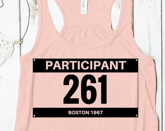 Runner 261 - Tribute to Kathrine Switzer, first woman to run the Boston Marathon