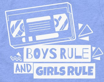 Boys Rule AND Girls Rule T-Shirt