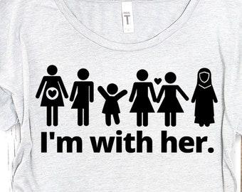 I'm With Her Sisterhood Tee
