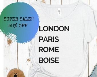 Idaho Shirt SALE! 50% off