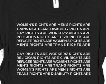 Rights for All Equal Sign Shirt