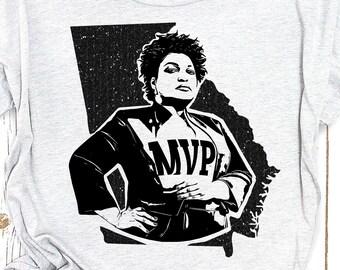Stacey Abrams, Stacey Abrams shirt, Stacey Abrams tshirt, Georgia runoff election, Stacy Abrams, Feminist shirt, feminist tshirt, feminism