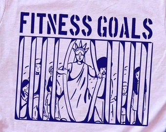 Fitness Goals for America Unisex T-shirt