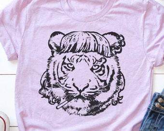 Tiger King Mullet Tshirt