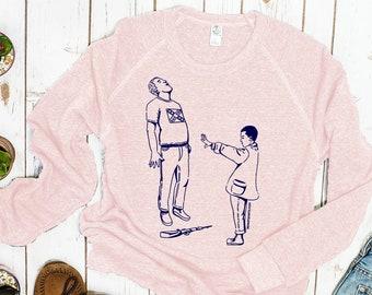 Stranger Things Sweatshirt: Eleven ending white supremacy
