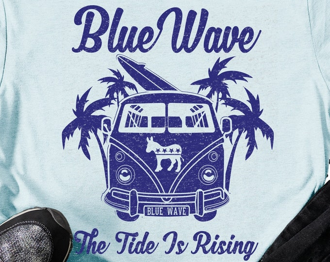 Featured listing image: Blue Wave 2020 Unisex Political Shirt