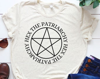 Hex the Patriarchy smash the patriarchy feminist tshirt by Fourth Wave Apparel witchy shirt feminism Halloween shirt women witchy clothing