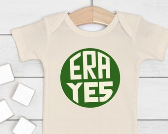 "Feminist Baby Outfit, ""ERA Yes"""