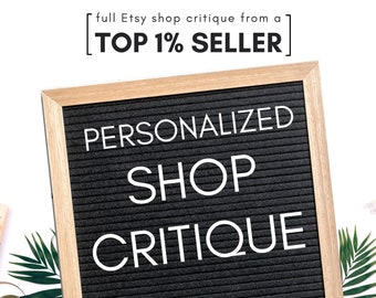 Etsy Shop Critique How to Sell on Etsy Selling on Etsy Etsy business sellers guide setting up an Etsy site Etsy profit template Etsy success