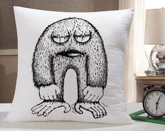 Cute Monster Pillow