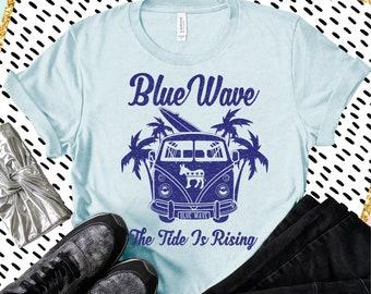 Blue Wave 2020 Unisex Political Shirt